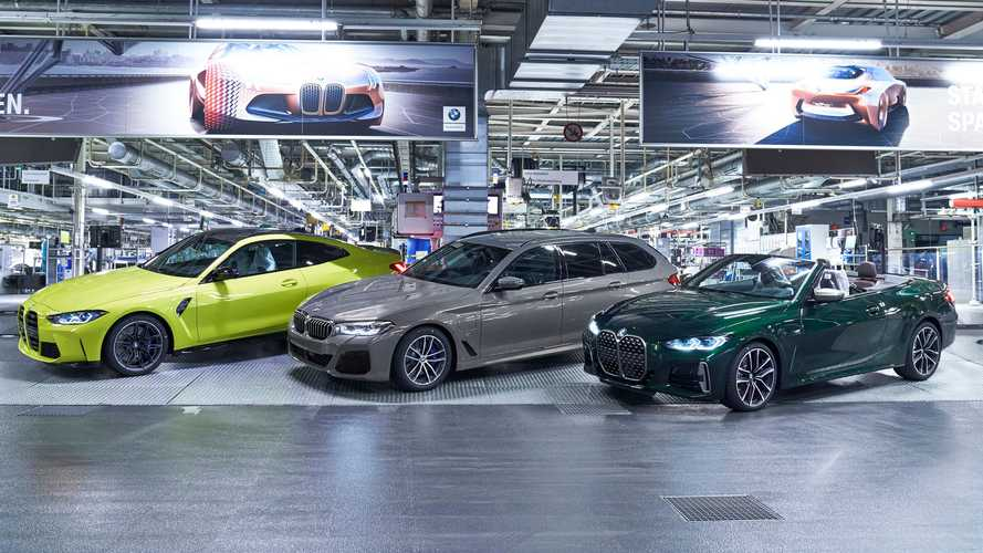 2021 BMW M3 Sedan ve M4 Coupe üretimi