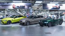 Les BMW M3 berline et M4 Coupé entrent en production