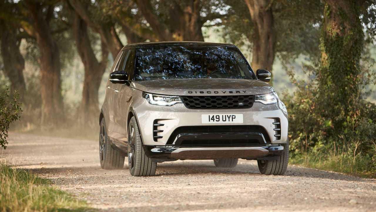 Land Rover Discovery (2020), вид спереди