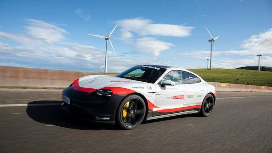 El Taycan Electrotour de Porsche finaliza cumpliendo su objetivo