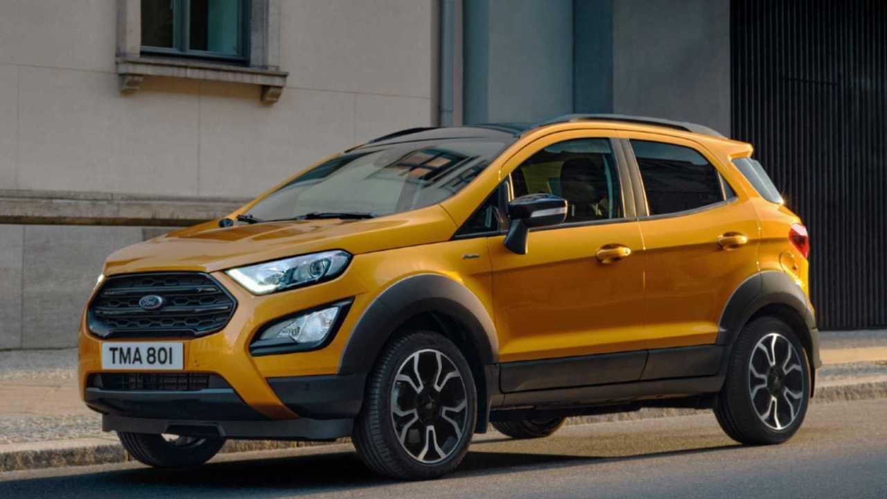 Ford EcoSport Active, dettagli e prezzi de