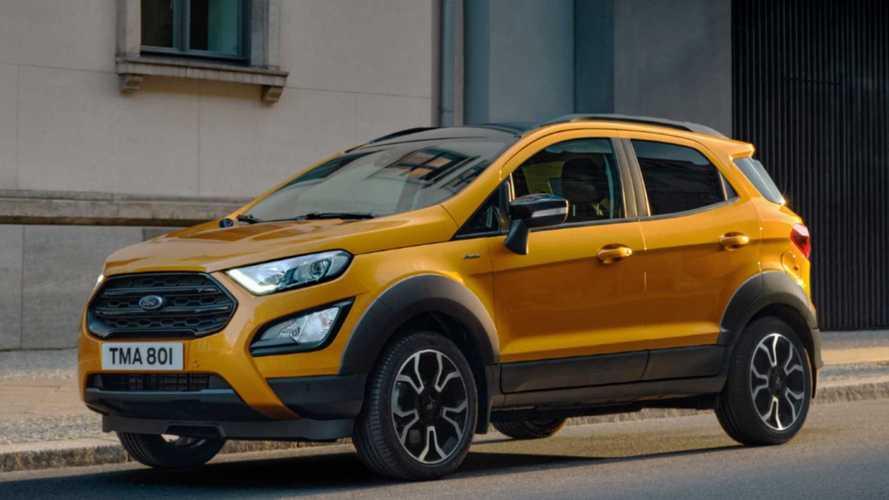 Ford EcoSport Active, look da fuoristrada e prezzo sotto 20 mila euro