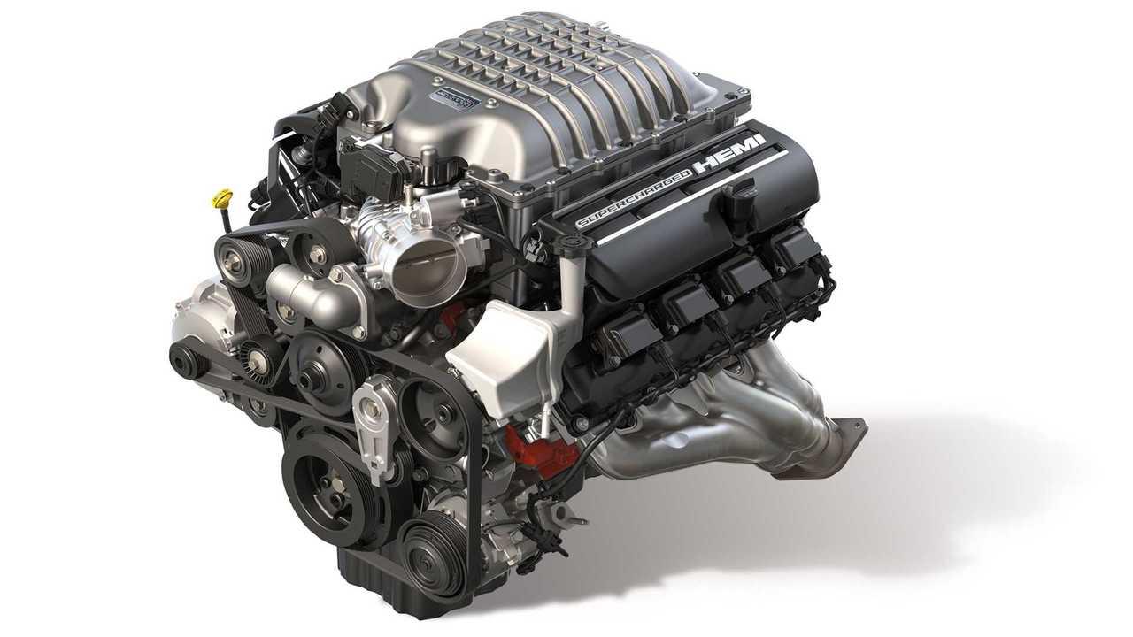 Mopar Hellcrate Redeye Engine