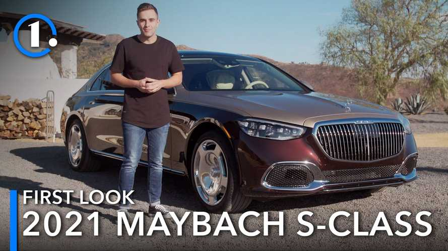 First Look: 2021 Mercedes-Maybach S580 Debuts With Garish, Posh Style