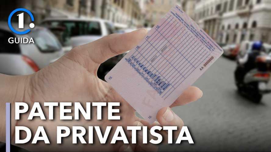 Patente, come si fa a prenderla da privatista