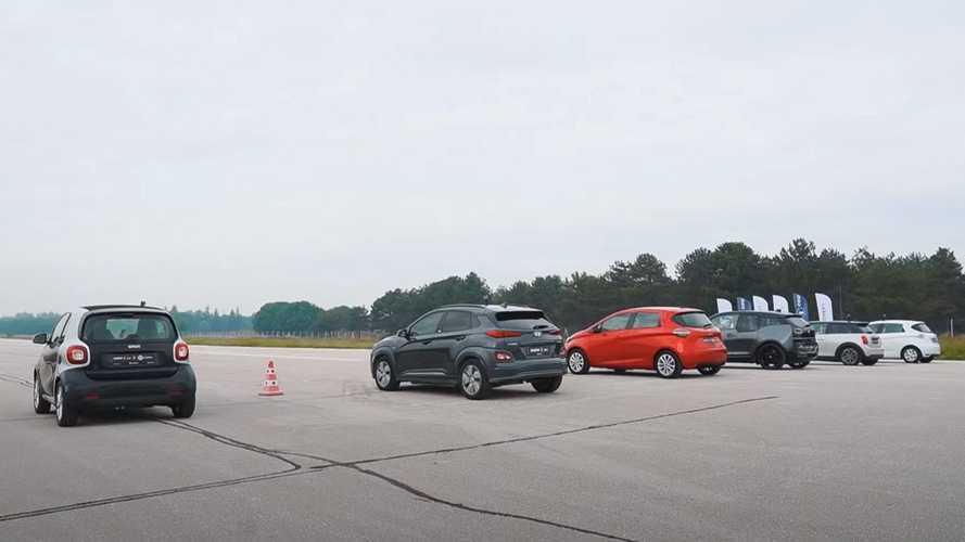 5 adet elektrikli hatchback, 1 adet de elektrikli SUV yarışıyor!