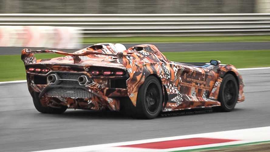 Watch Bonkers Lamborghini SC20 Lap Monza In All Its Roofless Glory