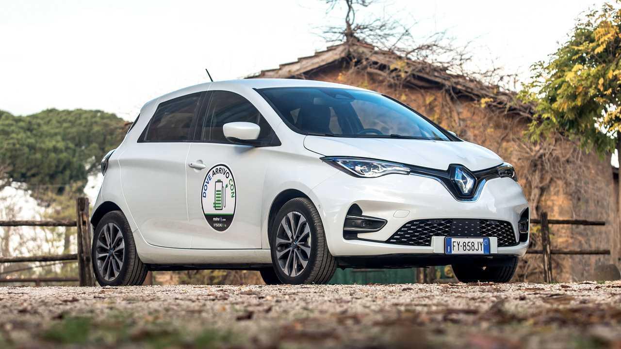 Onde chego com ... Renault Zoe