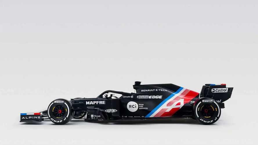 Alpine, la monoposto di F1