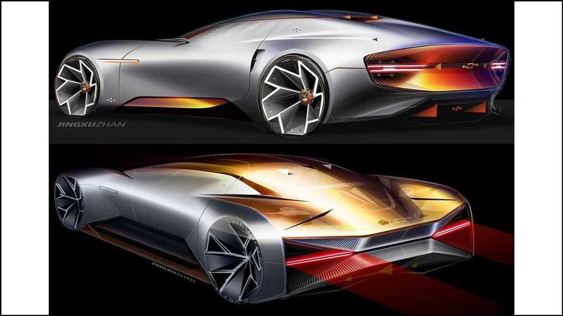 GM Design представила элегантный спортивный купе Chevrolet