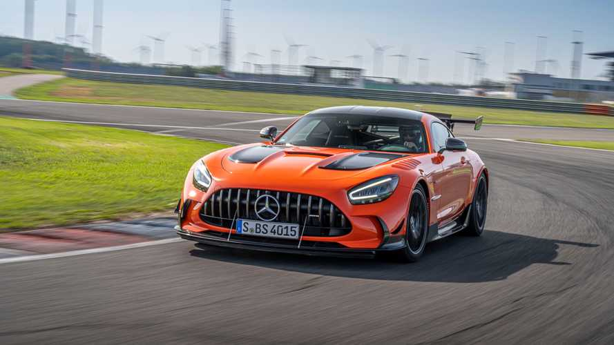 Mercedes-AMG GT Black Series 2020, prueba