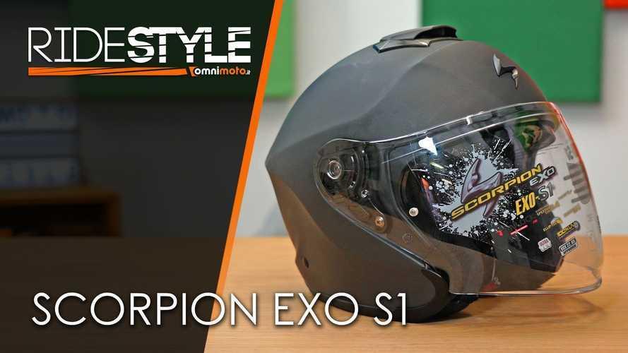 Ridestyle: casco jet Scorpion EXO-S1