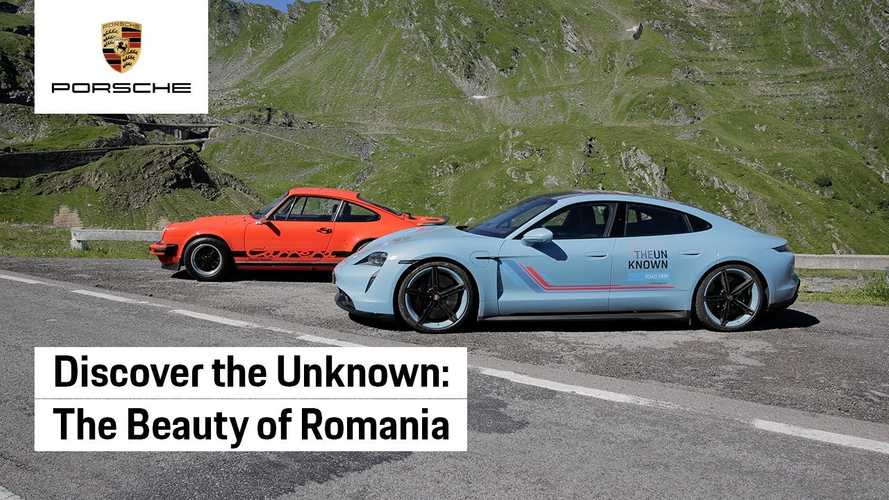 Porsche Takes Taycan On Road Trip To Promote The Country Of Romania