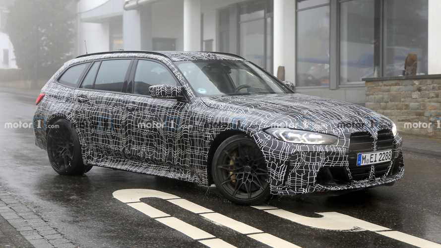 BMW M3 Touring yeniden kameralara yakalandı