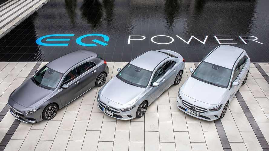 Gran oferta de Mercedes-Benz en el mercado híbrido, ¿quién da más?
