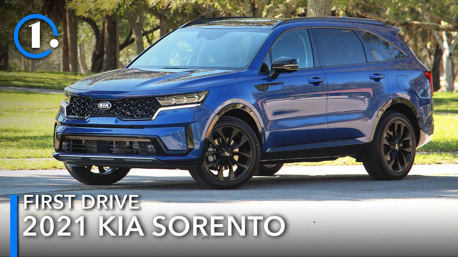 2021 Kia Sorento First Drive Review: Trickle-Down Effect