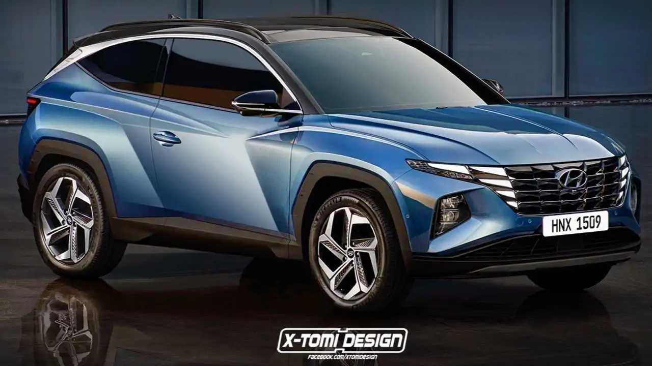 New Hyundai Tucson with three-doors