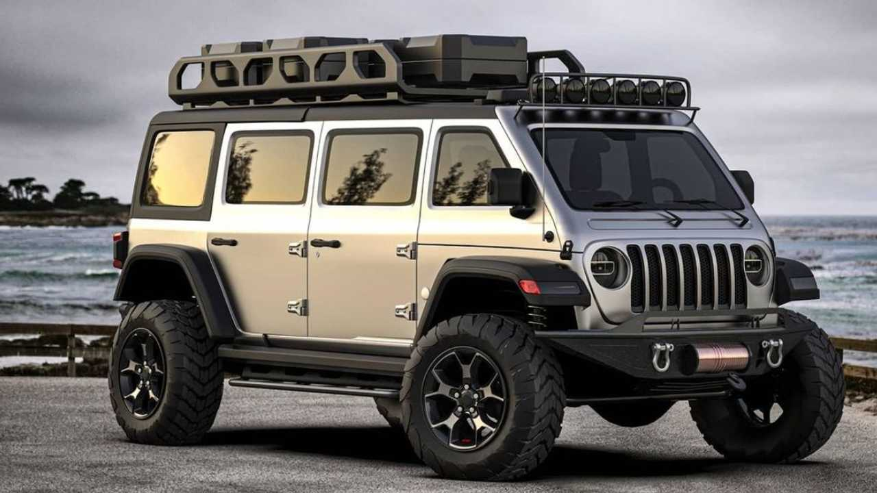 Renders Show Jeep Wrangler Van Of Our Dreams