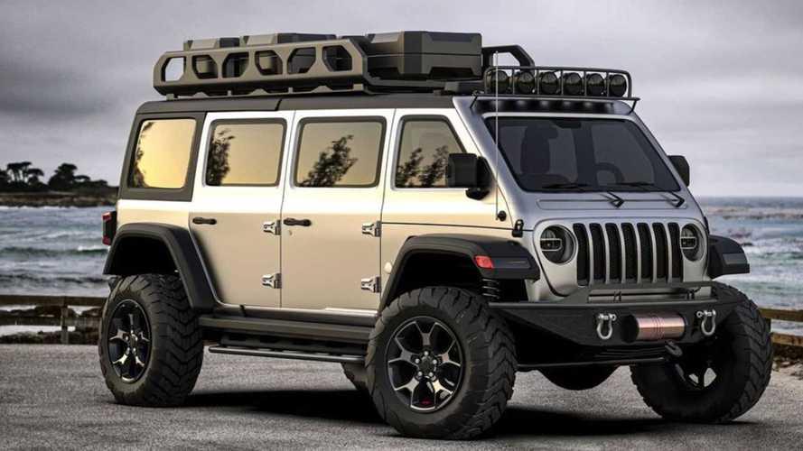 El Jeep Wrangler Van es perfecto para ir al fin del mundo... en familia