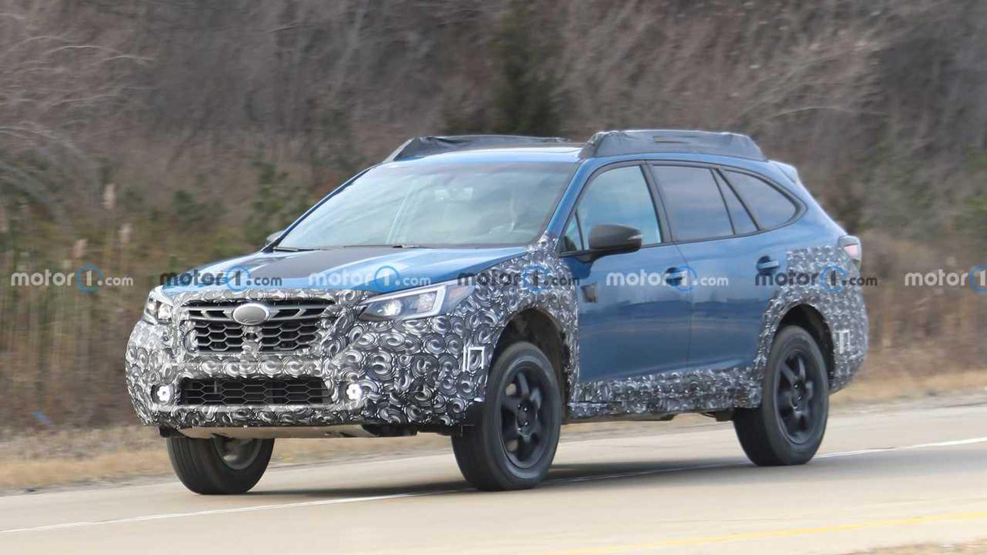 Subaru Outback Wilderness Edition шпионят впервые