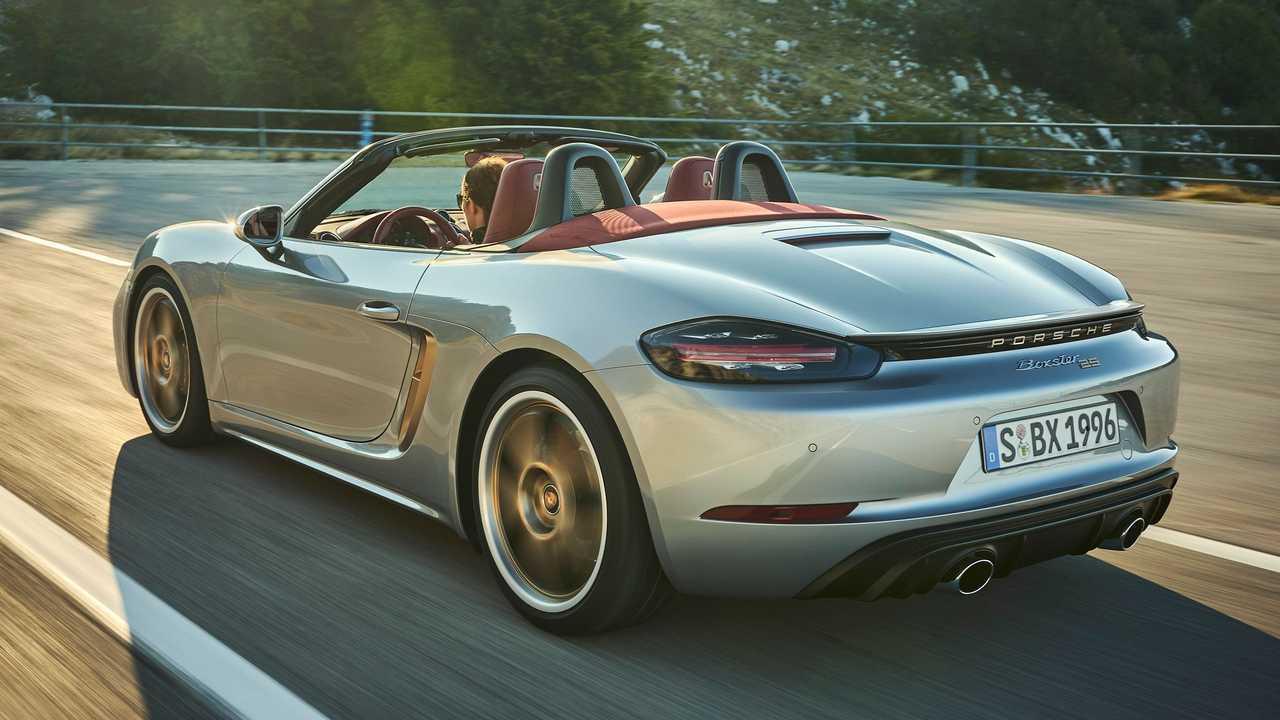 Electric Porsche Boxster concept coming soon