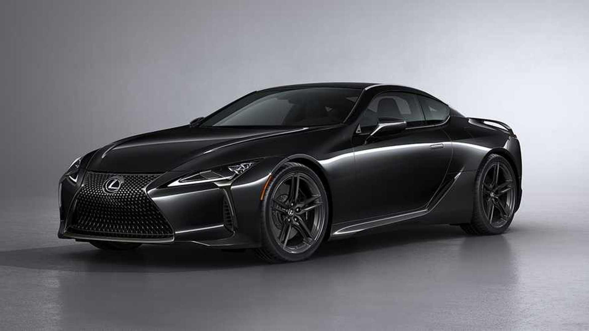 Lexus LC 500 Inspiration Series 2021 — Темный рыцарь ограниченного выпуска