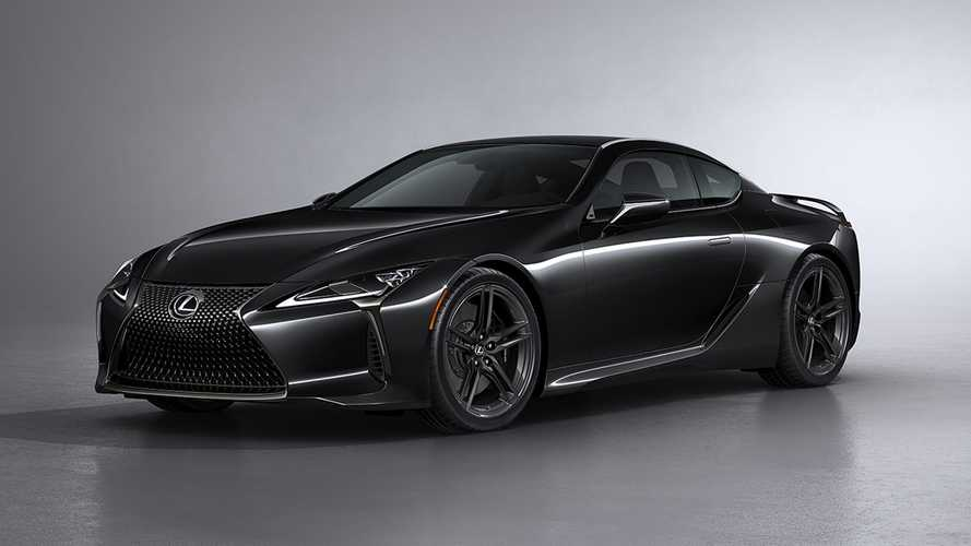 2021 Lexus LC 500 Inspiration Series is a limited-edition dark knight