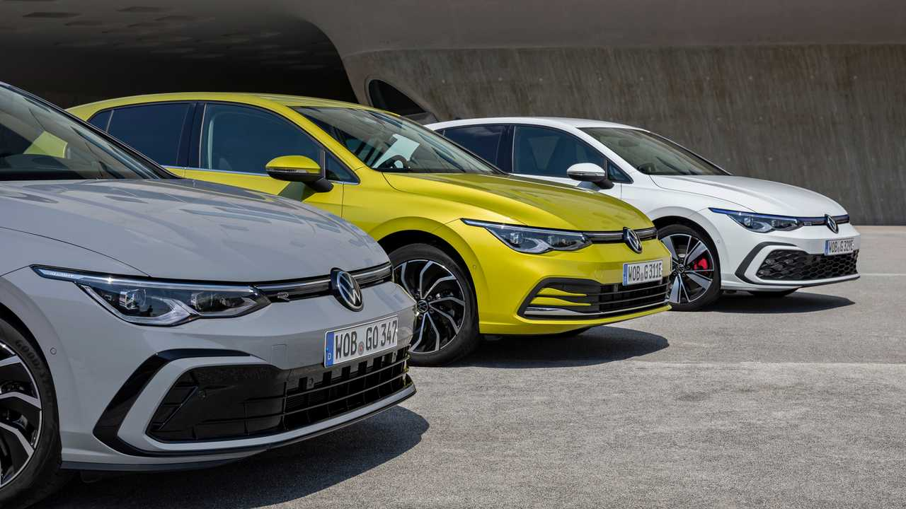 VW Golf Modellpalette 2020
