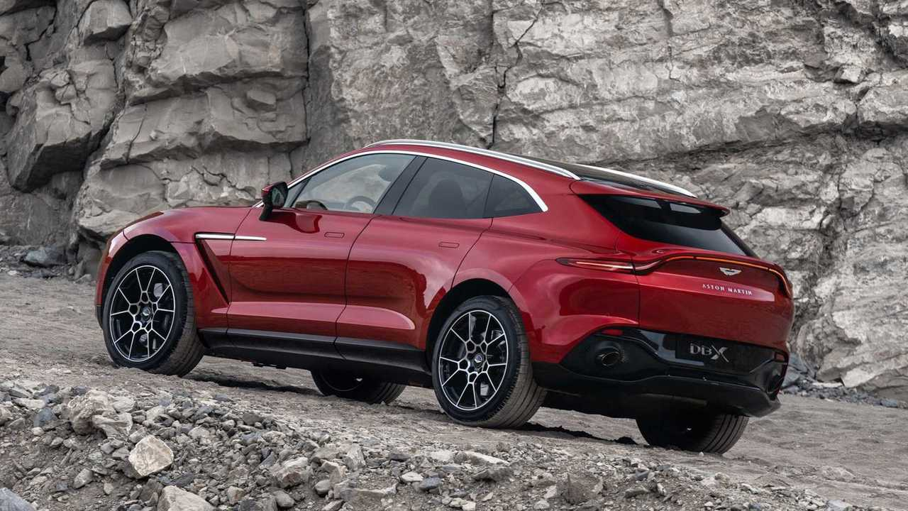Aston Martin DBX и его колеса