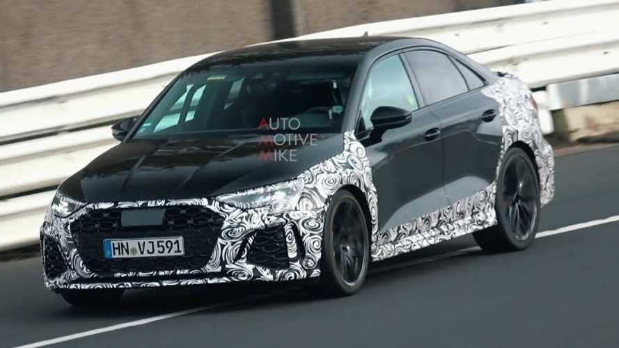 Audi RS 3 Limousine (2021) geht am Nürburgring ans Limit