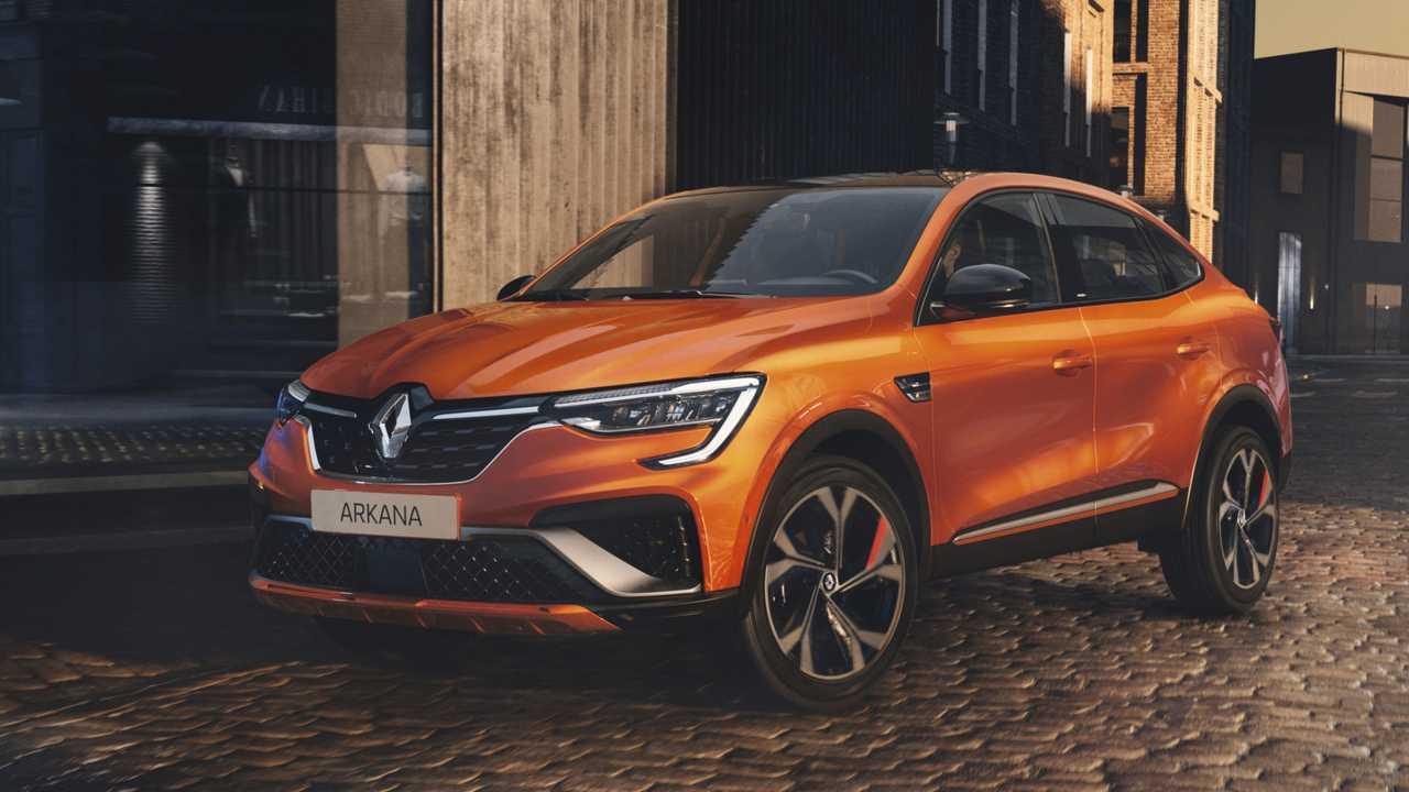 Renault Arkana (4,57 Meter, ab 2021)