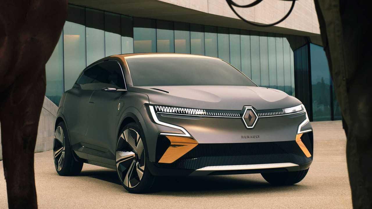 Renault Megane eVision - frente