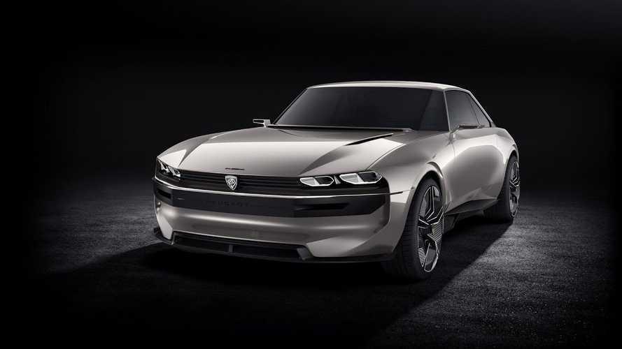 Retro-Tastic Peugeot e-Legend Concept Beautifies Paris