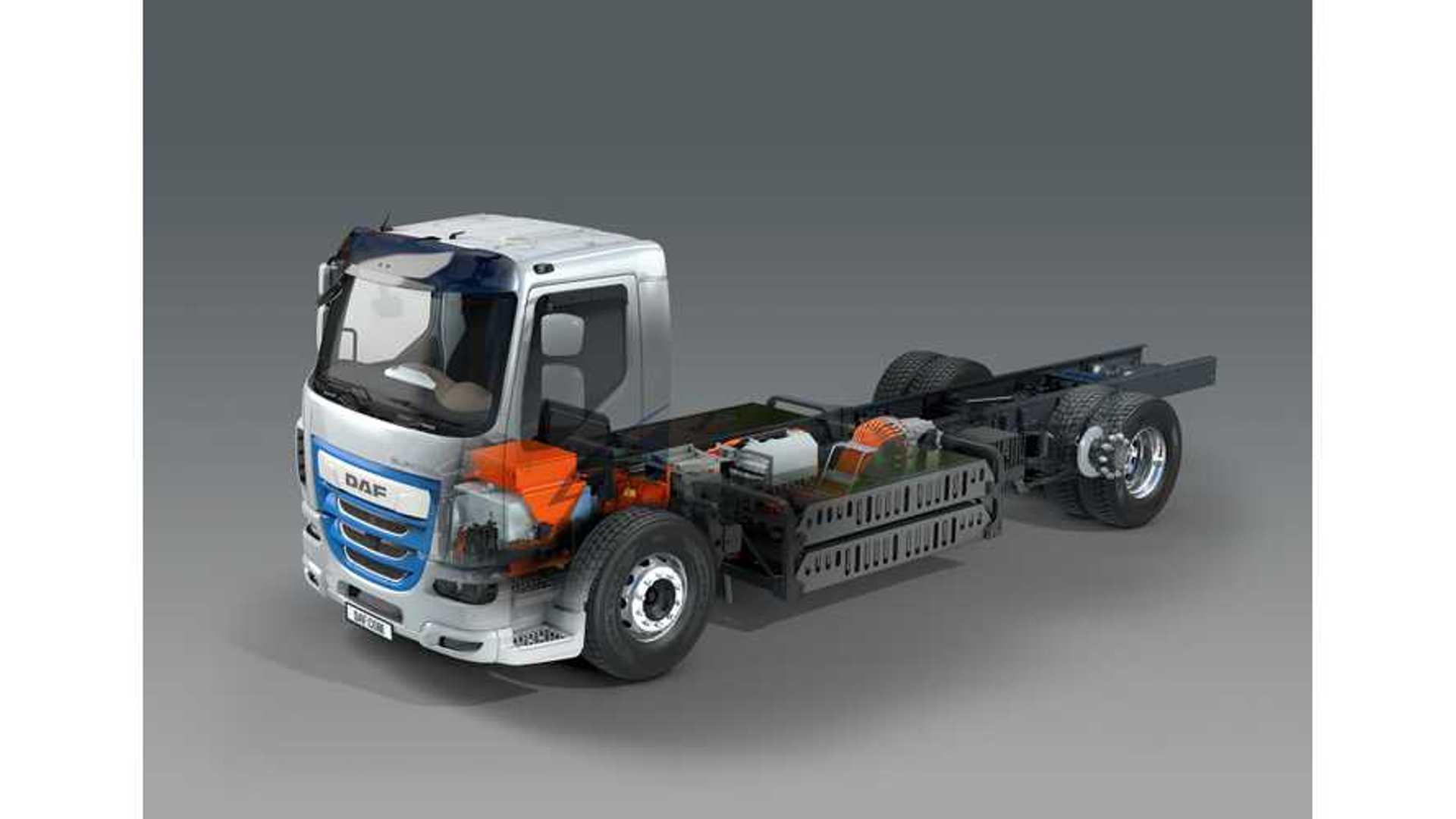 DAF Reveals Three Plug-In Electric Trucks At IAA