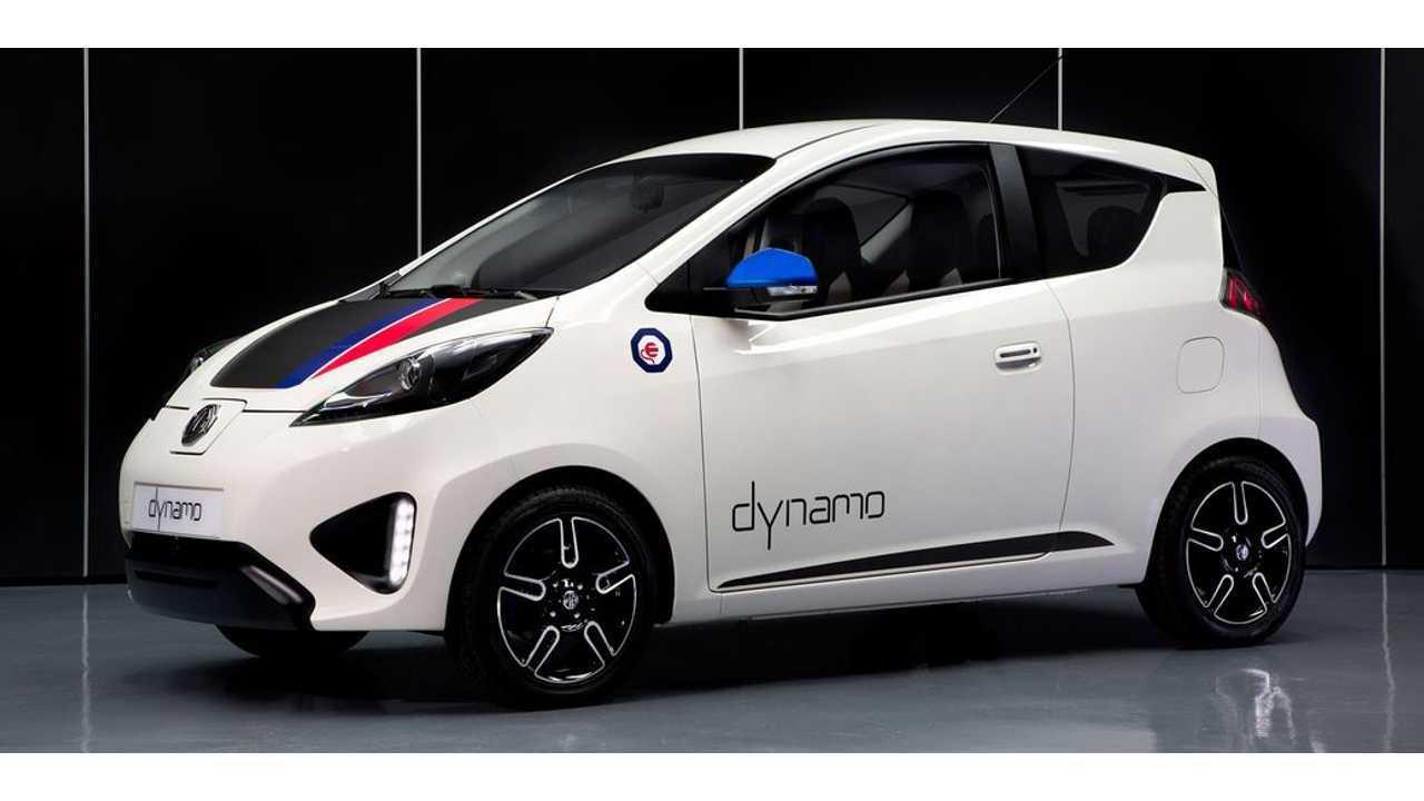 MG Dynamo Electric City Car Gets Revealed