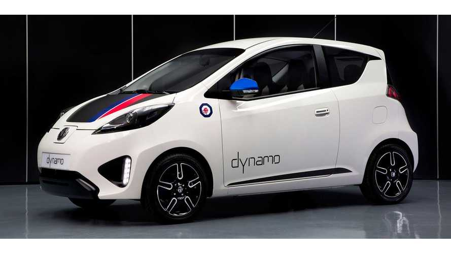 MG Dynamo Electric City Car Gets Revealed