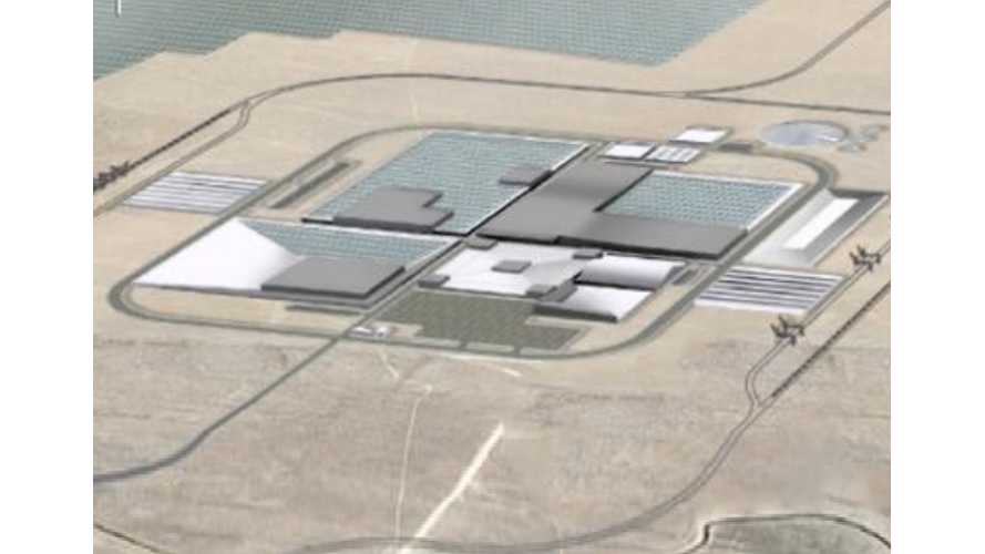 Tesla Gigafactory Has Drawn