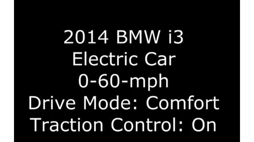 BMW i3 Road Test Shows i3 Is Even Quicker From 0 To 60 MPH Than BMW Claims