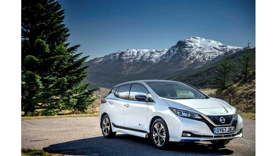 Wallpaper Wednesday: 2018 Nissan LEAF In UK – Top Images