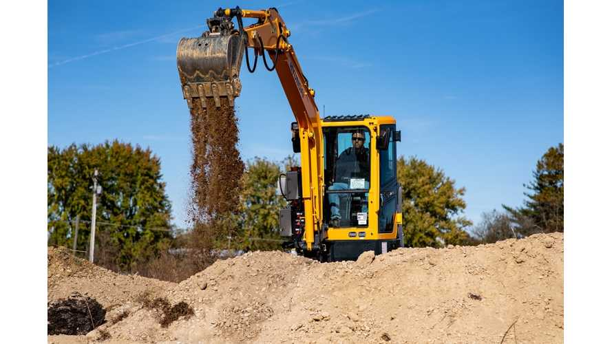 Hyundai Teams With Cummins For Mini Electric Excavator