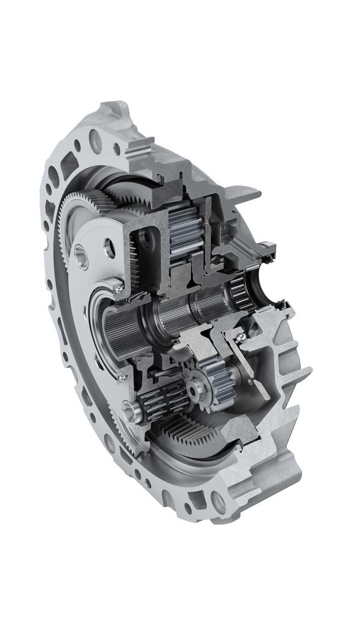Schaeffler's coaxial transmission for rear axle of the Audi e-tron