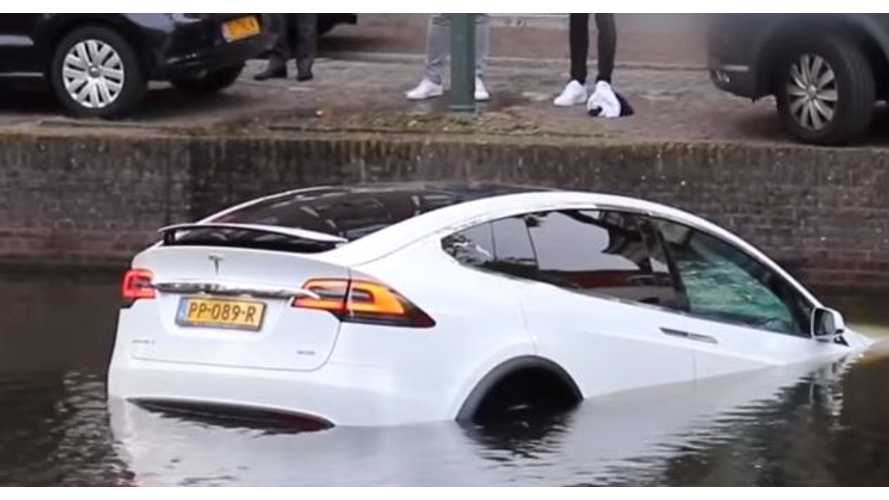 Here's Why You Shouldn't Use Your Tesla As A Boat
