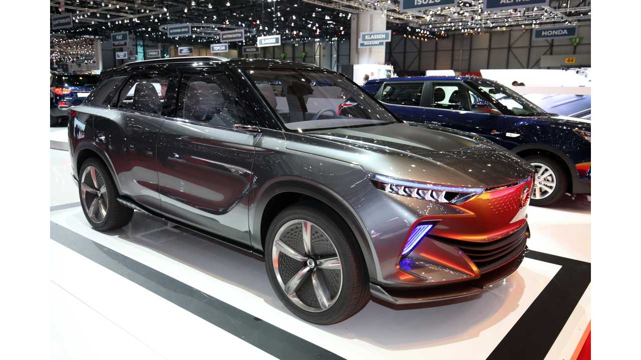 Details Emerge On Ssangyong Korando AWD EV