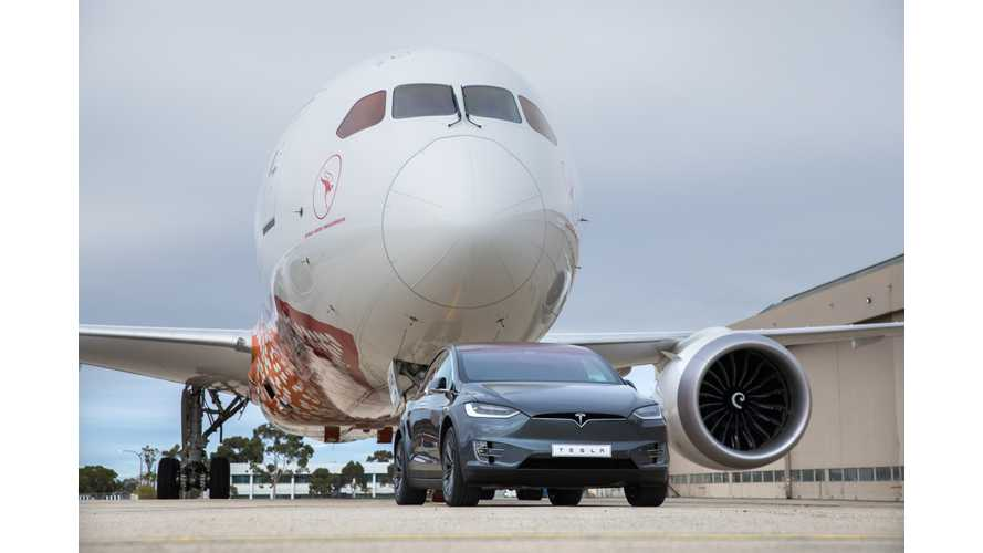 The Physics Behind That Tesla Model X Towing A Boeing