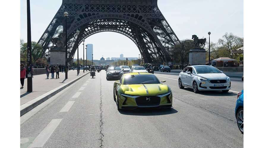 DS E-TENSE Concept On The Streets And On The Track - Videos