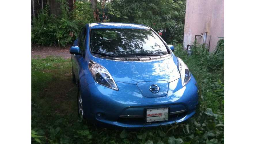 Nissan LEAF Driving New Jersey Assemblyman Hit By Rolling Coal