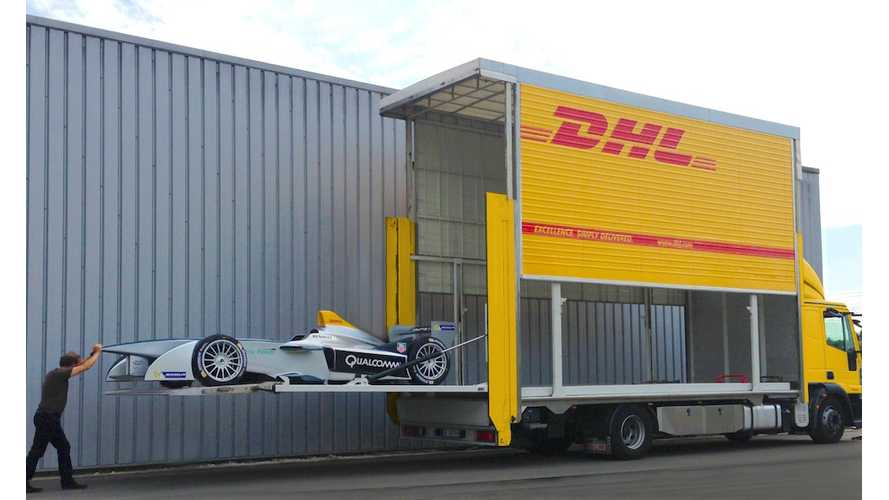 How DHL Ships Formula E Racers - Video