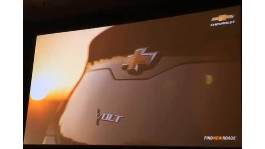 2016 Chevy Volt Teaser Reveal - Video