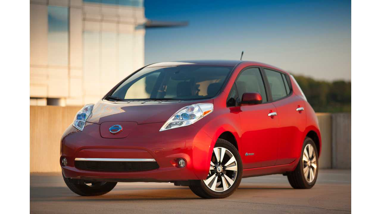 Nissan Outlines Changes For 2015 LEAF