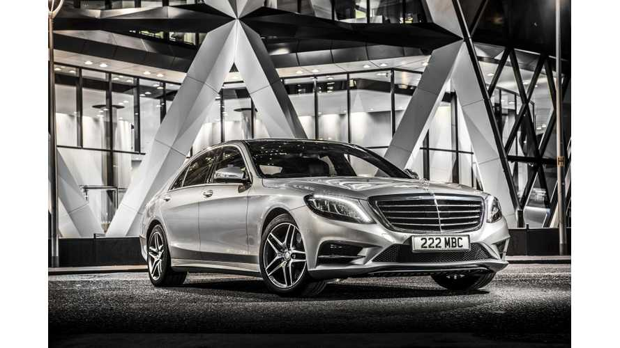 Mercedes-Benz S500 Plug-In Hybrid Test Drive Video